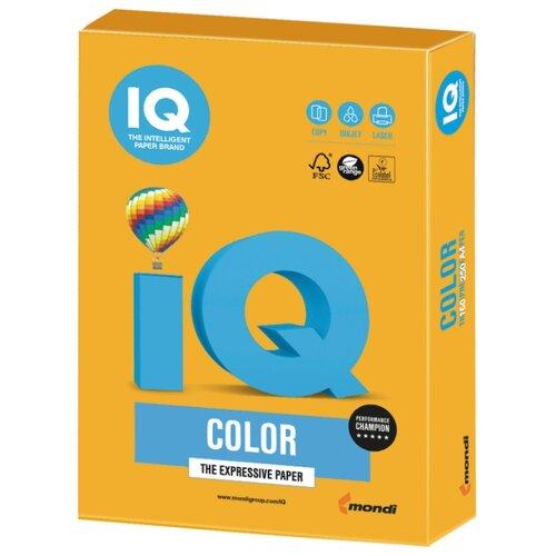 Фото - Бумага IQ Color А4 160 г/м² 250 лист. 1шт. бумага iq color а4 color 120 г м2 250 лист оранжевый or43 1 шт