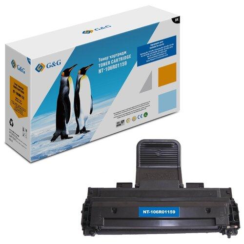 Фото - Картридж лазерный G&G NT-106R01159 черный (3000стр.) для Xerox Phaser 3117/3122/3124/3125 bion 106r01159 картридж для xerox phaser 3117 3122 3124 3125 3000 стр [бион]
