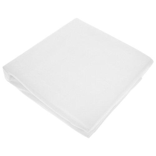 Hippychick Простынка непромокаемая натяжная 70х140 см белыйПостельное белье и комплекты<br>