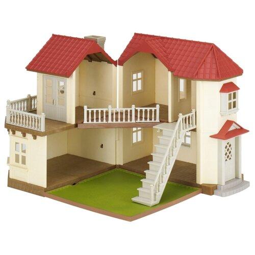 Купить Игровой набор Sylvanian Families Большой дом со светом 2752/4531/5302, Игровые наборы и фигурки
