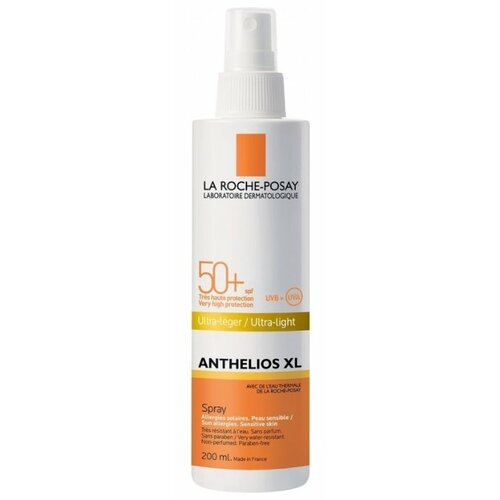 La Roche-Posay Anthelios XL солнцезащитный спрей SPF 50 200 мл la roche anthelios