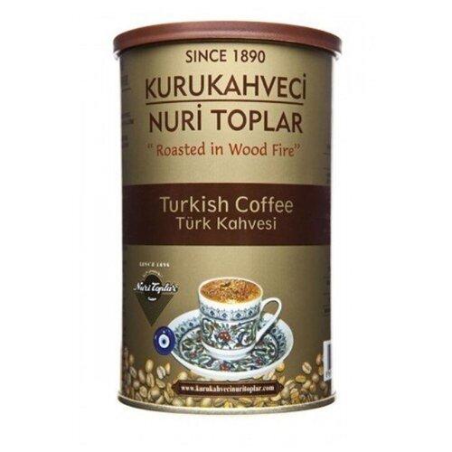Кофе молотый Kurukahveci Nuri Toplar Turkish coffee, жестяная банка, 250 г to4rooms комод nuri