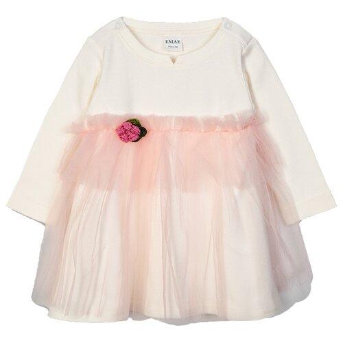 Платье ЁМАЁ размер 86, ваниль платье ёмаё ёмаё mp002xg005yb