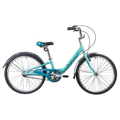 Фото - Подростковый горный (MTB) велосипед Novatrack Ancona 24 3 (2019) зеленый 10 (требует финальной сборки) велосипед novatrack racer черный 24 рама 10