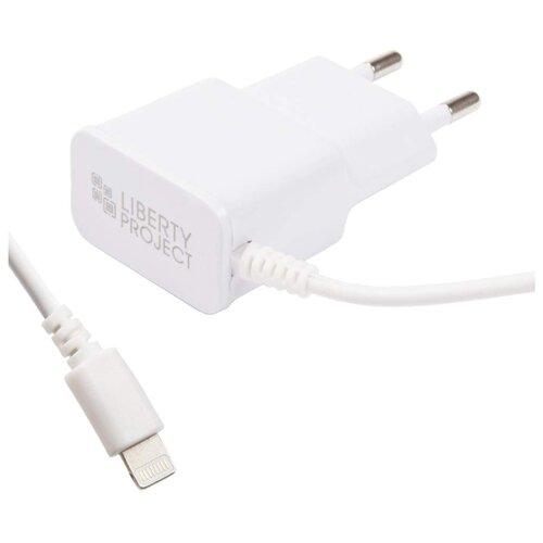Сетевая зарядка Liberty Project 0L-00030222 белыйЗарядные устройства и адаптеры<br>