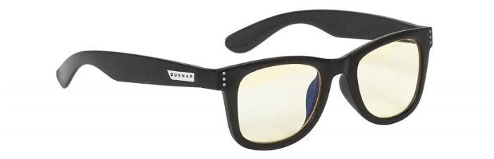 Очки защитные с регулируемыми дужками, черные