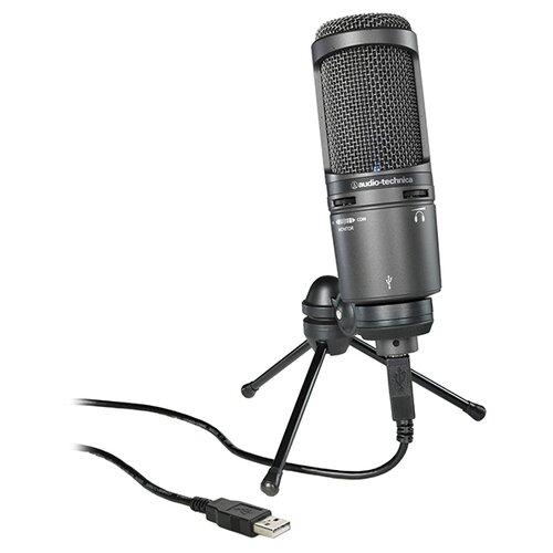 Микрофон Audio-Technica AT2020USB+, черный