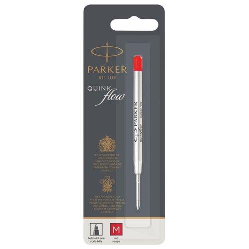Стержень для шариковой ручки PARKER QuinkFlow Z08 M 1мм (1 шт.) красный