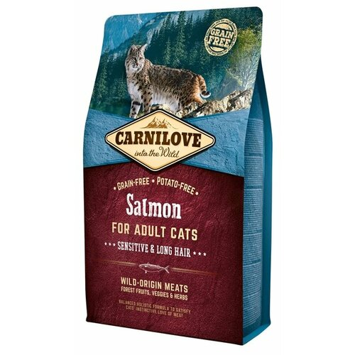 Корм для кошек Carnilove Carnilove Salmon for adult cats (2 кг) 2 кг