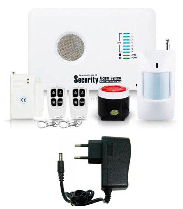 Купить Беспроводная охранная GSM сигнализация Страж Универсал для дома квартиры дачи коттеджа гаража по низкой цене с доставкой из Яндекс.Маркета (бывший Беру)