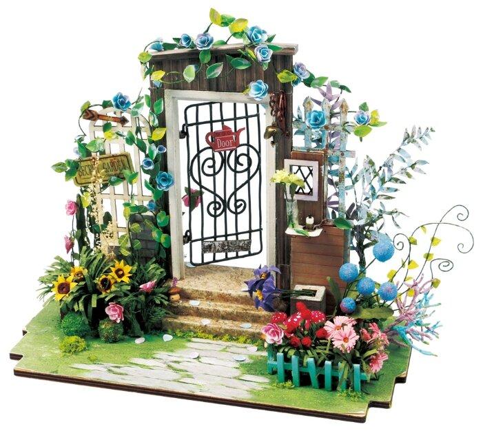 Сборная модель Rolife Румбокс Калитка в цветах (DGM02),