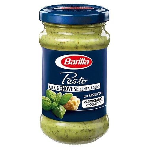 Соус Barilla Pesto alla genovese genza aglio, 190 г соус barilla napoletana 400 г