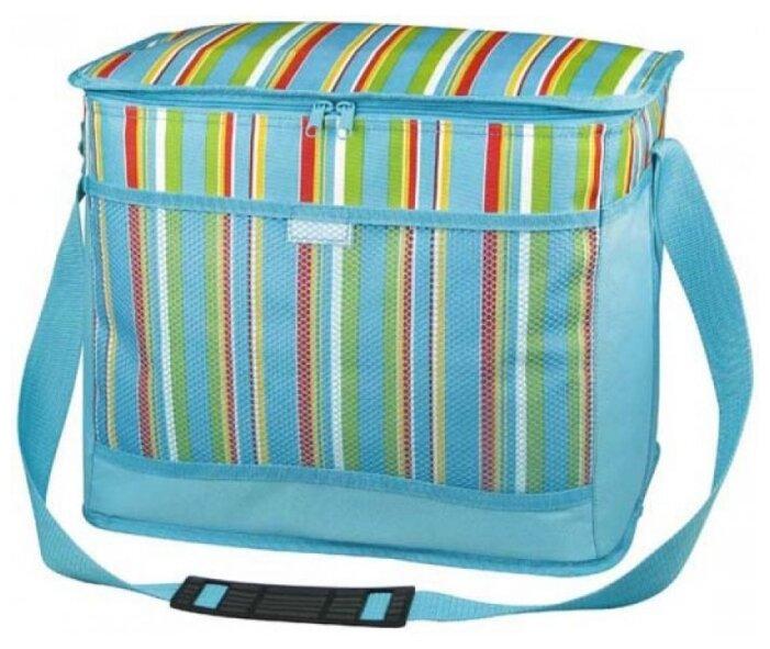 Сумка-холодильник Термосумка с набором для пикника Camping World Easy Lunch 1 перс., синяя (SL-001)