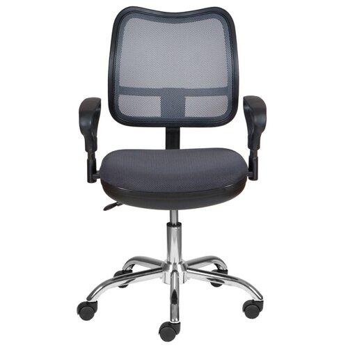 Компьютерное кресло Бюрократ CH-799SL, обивка: текстиль, цвет: серый TW-12
