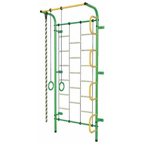 Спортивно-игровой комплекс Пионер С1Л, зеленый/желтый