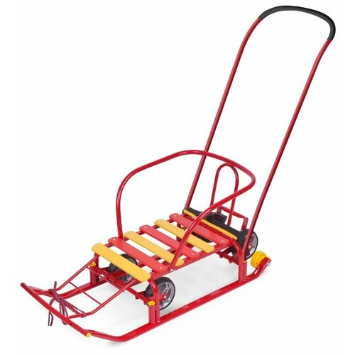 Купить Санки Nika Тимка 5 Универсал (Т5У) красный, Санки и аксессуары