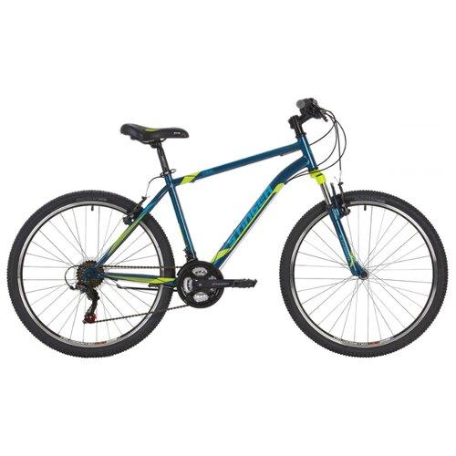 Горный (MTB) велосипед Stinger Caiman 26 (2019) синий 14 (требует финальной сборки)Велосипеды<br>