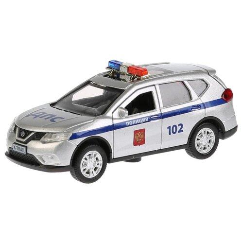 Купить Легковой автомобиль ТЕХНОПАРК Nissan X-Trail (X-TRAIL-P-SL) 12 см серебристый, Машинки и техника