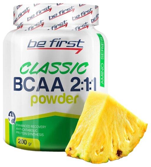 BCAA Be First BCAA 2:1:1 Classic Powder (200 г)