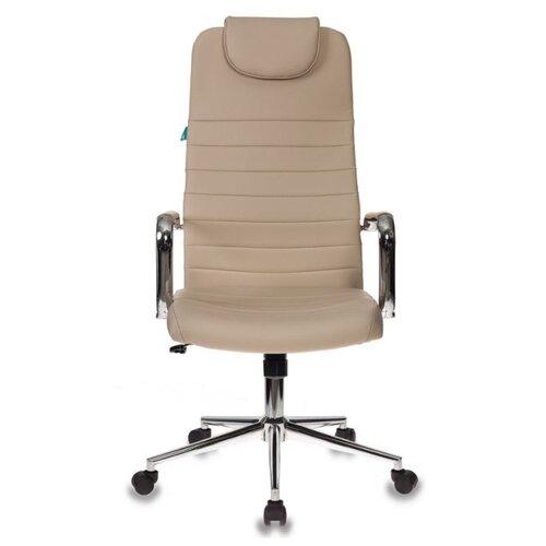 Компьютерное кресло Бюрократ KB-9N/ECO, обивка: искусственная кожа, цвет: светло-бежевый компьютерное кресло tetchair барон обивка искусственная кожа цвет бежевый