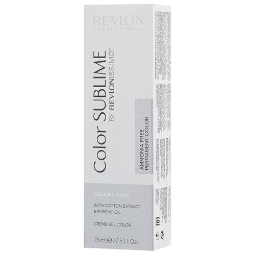 Revlon Professional Revlonissimo Color Sublime стойкая краска для волос, 75 мл, 6.13 темный блондин пепельно-золотистый