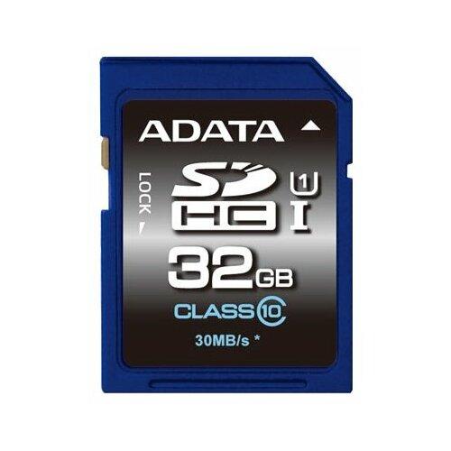 Фото - Карта памяти ADATA Premier SDHC Class 10 UHS-I U1 32GB карта памяти micro sdxc 128gb adata premier uhs i u1 v10 a1 adp 85 25 mb s