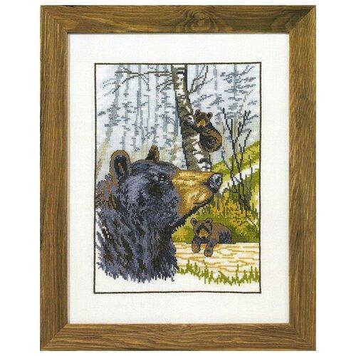 Купить Набор для вышивания Гризли 31 x 41 см 70-0173, Permin, Наборы для вышивания