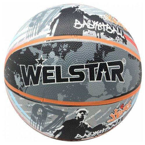 Баскетбольный мяч WELSTAR BR2894C , р. 7 серый джинсы rica lewis ц серый р 30