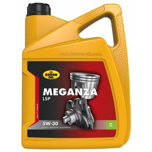 Фото - Синтетическое моторное масло Kroon Oil Meganza LSP 5W-30, 5 л моторное масло mitsubishi genuine oil 5w 30 1л синтетическое [mz320756]