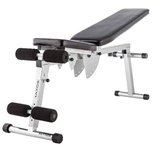 Скамья KETTLER Axos 7629-800 черный/серый kettler теннисный стол всепогодный kettler axos outdoor 1