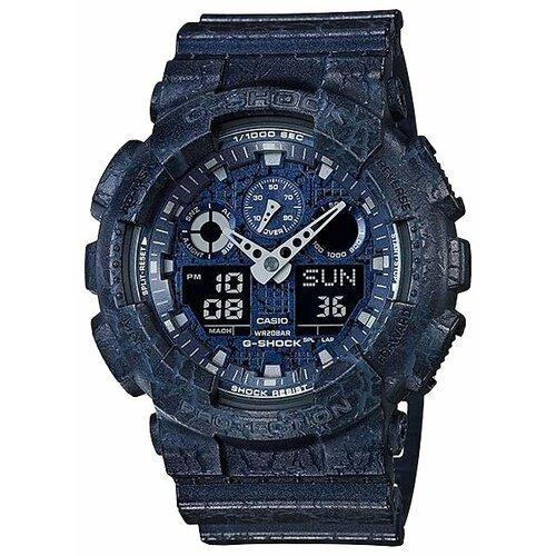 Наручные часы CASIO GA-100CG-2A наручные часы casio lrw 200h 2e