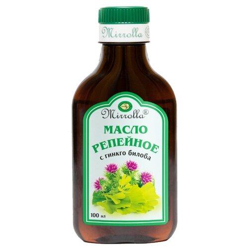 Фото - Mirrolla Репейное масло с гинкго билоба, 100 мл сочинка гидролат гинкго билоба 100 мл