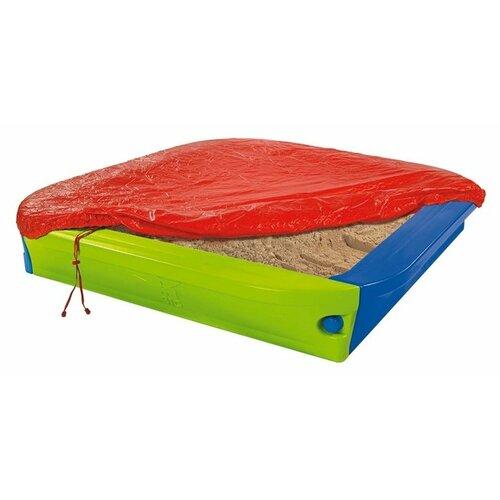 Песочница BIG С тентом (56726) синий/зеленый/красный
