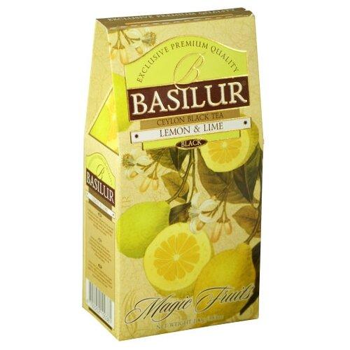 Чай черный Basilur Magic fruits Lemon&Lime, 100 г basilur orient delight черный листовой чай 100 г