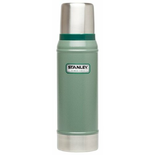 Классический термос STANLEY Classic Vacuum Insulated Bottle, 0.75 л зеленый