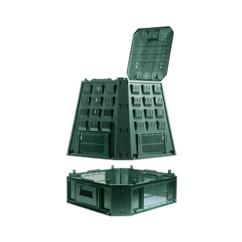Компостер Prosperplast IKEV630Z-G851 (630 л) зеленый по цене 5 453