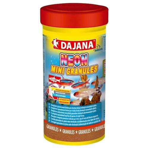 Сухой корм Dajana Pet Neon Mini Granules для рыб 250 мл 150 г