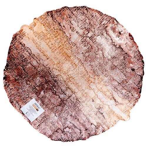 Akcam Блюдо Древо 40 см коричневый