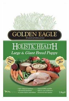 Корм для собак Golden Eagle Holistic Health Large & Giant Breed Puppy 23/13 (12 кг)