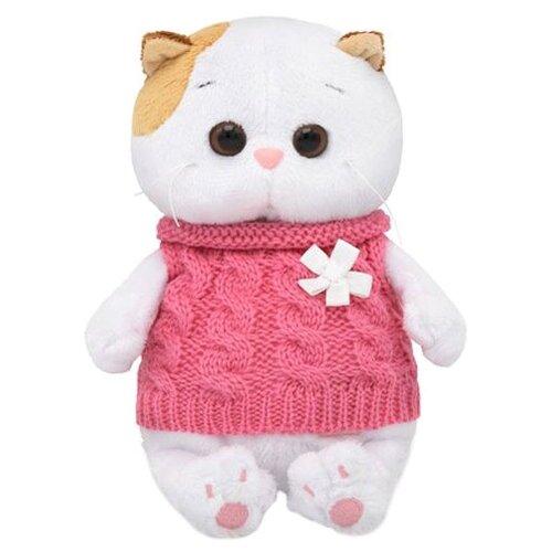 Купить Мягкая игрушка Basik&Co Кошка Ли-Ли baby в жилетке 20 см, Мягкие игрушки