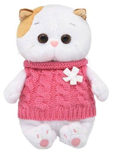 Мягкая игрушка Basik&Co Кошка Ли-Ли baby в жилетке 20 см