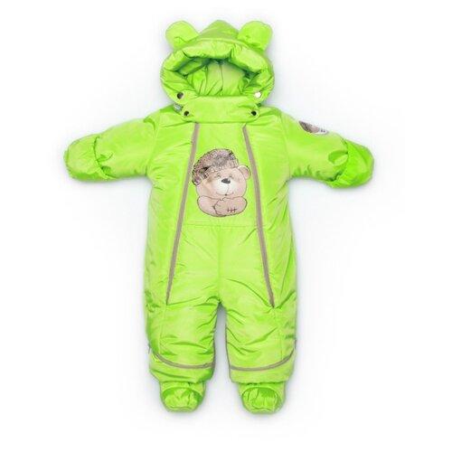 Фото - Комбинезон-трансформер MaLeK BaBy размер 80, салатовый медведь комбинезон malek baby malek baby