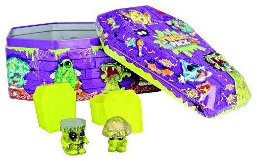 Игровой набор Moose Trash Pack Gross Zombies Rotten coffin collectors tin 6645