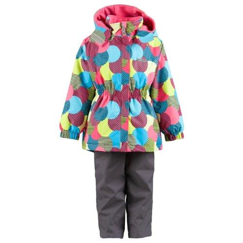 Комплект с полукомбинезоном KERRY Liisi K19031 размер 122, 1740Комплекты верхней одежды<br>
