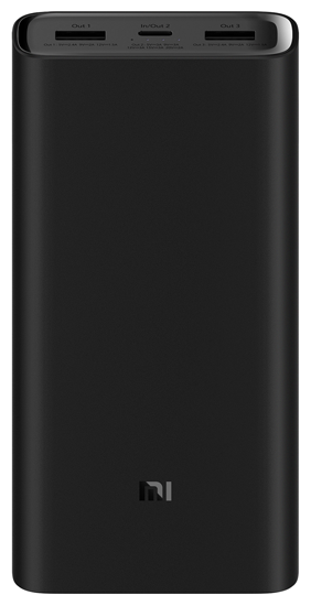 Внешний аккумулятор Xiaomi Mi Power Bank 3 Pro 20000mAh Black PLM07ZM