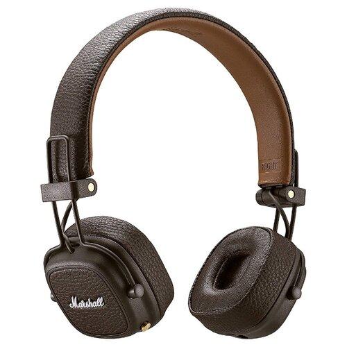 Беспроводные наушники Marshall Major III Bluetooth brown беспроводные наушники marshall mid a n c bluetooth black