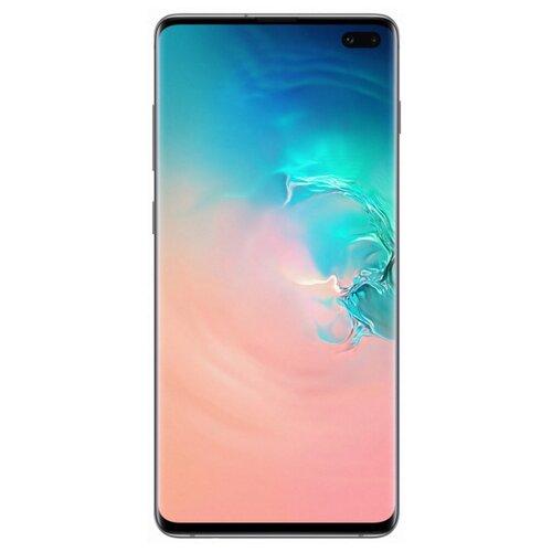Смартфон Samsung Galaxy S10+ 8/128GB перламутр (SM-G975FZWDSER) смартфон samsung galaxy s10 8 128gb sm g975f red