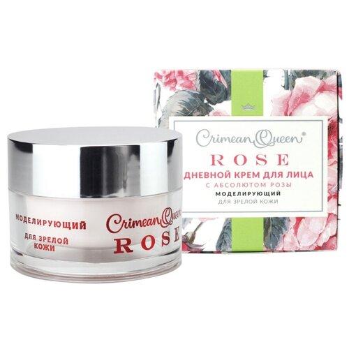 Crimean Queen Rose Крем для лица дневной с абсолютом розы Моделирующий для зрелой кожи, 50 г недорого
