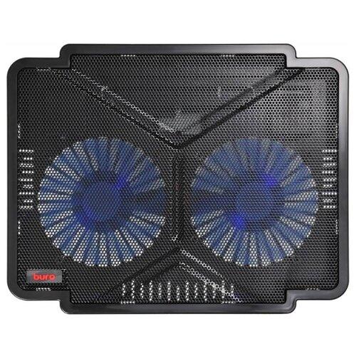 Фото - Подставка для ноутбука Buro BU-LCP140-B214, черный подставка для ноутбука 15 6 buro bu lcp156 b214 металл пластик 1000об мин 22db черный