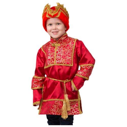 Купить Костюм Батик Jeanees Царевич (2046), красный, размер 152, Карнавальные костюмы
